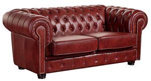 Max Winzer Norwin Sofa 2-Sitzer - Farbe: rot - Maße: 174 cm x 98 cm x 74 cm; 2909-2100-9342023-F07