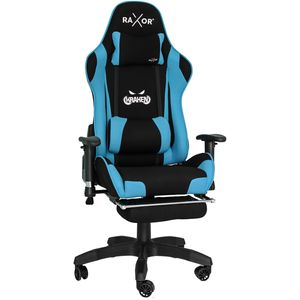 RAXOR® Kraken Bürostuhl Racing Gamingstuhl Schreibtischstuhl Drehstuhl Sportsitz Blau