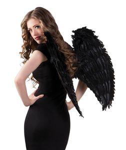 Boland engelsflügel 65 x 65 cm Damen schwarz
