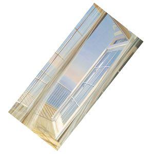 2pcs Selbstklebend Türtapete Fototapete Türposter Türaufkleber Klebefolie Folie für Wohnzimmer Schlafzimmer H wie beschrieben