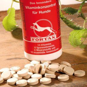 Cafortan -Tabletten die bekannteste Mineralstoff-/Vitamin-Futterergänzung 600Tab