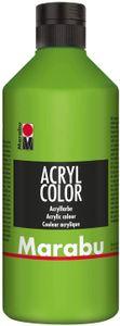 Marabu Acrylfarbe Acryl Color 500 ml blattgrün 282