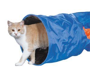 Nobby Katzentunnel 115 x 30 cm Katzen Spieltunnel Rascheltunnel Katzenspielzeug