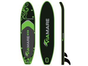 VIAMARE SUP Board Set 330 cm inflatable / Stand up Paddle Board aufblasbar