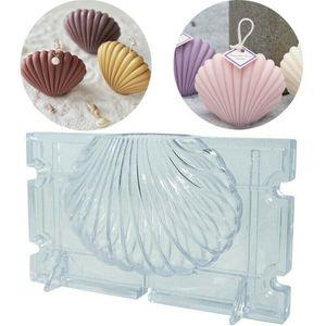 Aromatherapie Kerzenform Shell Fan / Shell Kerzenform / handgemachte Seife(S/(9.5*5.5cm) )