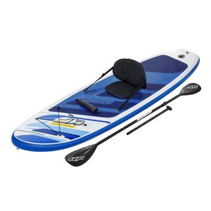 Bestway Hydro-Force™ SUP Allround Board-Set Oceana mit Kajak-Sitz und Paddel, 305x84x12cm, 65350