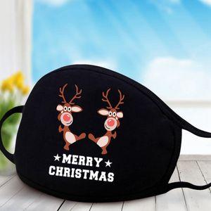 5 stk Weihnachten Schutzmaske Erwachsene Staubdichte Mundschutz Gesichtsmasken Baumwolle Atmungsaktiv