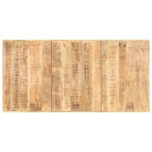 vidaXL Tischplatte Massivholz Mango 16 mm 160 x 80 cm
