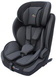 CLAMARO Autokindersitz mit ISOFIX von 9 bis 36 kg Gruppe 1+2+3 Sitze, Autositz, Kindersitz, Autositz mit Isofix:Farbe Grau-Schwarz