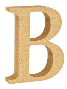 "VBS MDF Buchstabe Buchstabe ""B"""