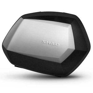 Shad Side Case Sh35 Right&left Premium Set Aluminium / Black One Size