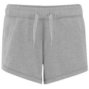 Comfy Co Damen Elastik Lounge Shorts RW5341 (M) (Grau meliert)