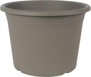 Pflanzkübel Cylindro, Farbe:Taupe, Größe:ø80 cm