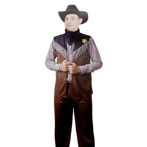 Cowboy Kostüm Herren / Karneval Fasching # Gr. L