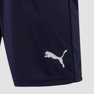 PUMA LIGA s Core Herren Fußball-Shorts Peacoat-Weiss, Größe:L