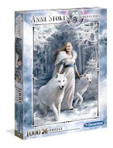 Clementoni puzzle Anne Stokes - Winterwächter 1000 Teile