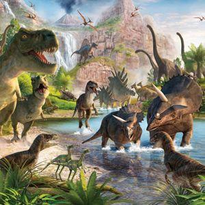 Walltastic Fototapete Dinosaur Land 41745