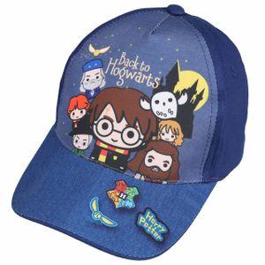Dunkelblaue Schirmmütze mit interessantem Aufdruck Harry Potter
