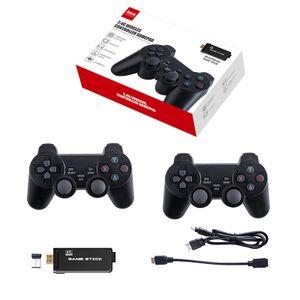 4K HDMI TV Video Spiele Konsole ,Mit 2 Kabellos Controller,   TV Retro Spiel Konsole  32GB