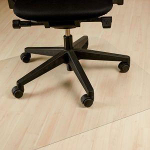 relaxdays Bodenschutzmatte Bürostuhl transparent