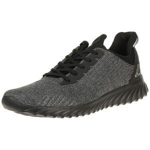Kappa IRONIC Sneaker Unisex Turnschuhe Schuhe schwarz, Schuhgröße:37 EU