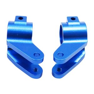 2er Lenknabenträger vorne (L / R) Cup für TRXXAS SLASH 2WD Dark Blue Dunkelblau 30x16x20mm RC Hobby Zubehör