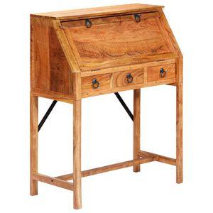 dereoir Schreibtisch 90×40×107 cm Massivholz Akazie