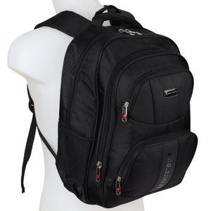 Bag Street Rucksack Sport Reisen  Arbeit Freizeit Schulrucksack T0004 Schwarz