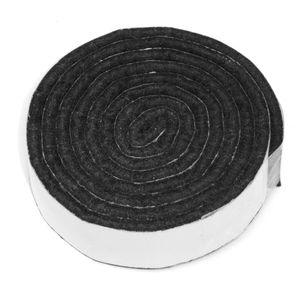 3 x selbstklebendes Filzband zum Zuschneiden | 19x1000 mm | Schwarz | rechteckig | 3.5 mm starker selbstklebender Filzzuschnitt in  von Adsamm®