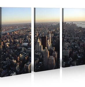 Bilder auf Leinwand Nyc New York City Kunstdruck XXL Bild Poster Leinwandbilder Wandbilder