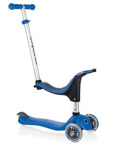 Scooter / Kinderroller / Dreirad / Laufrad Globber Evo 4in1 navy blau