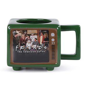 Friends 3D Tasse Retro TV Thermoeffekt