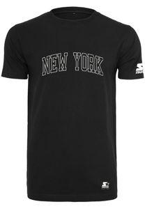 Starter T-Shirt NEW YORK TEE ST011 Black, Größe:S