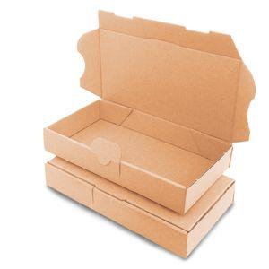 verpacking 5 Maxibriefkartons Versandkartons Faltschachtel Faltkarton Maxibrief 180 x 100 x 30 mm   Braun   MB-0