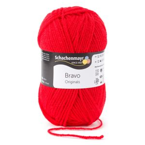 Schachenmayr Bravo, 9801211-08221, Farbe:Feuer, Handstrickgarne