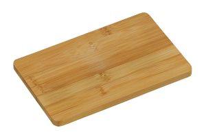 SCHNEIDEBRETT Bambus 22x14cm Frühstückbrettchen Schneidbrett Küchenbrett Holz 17