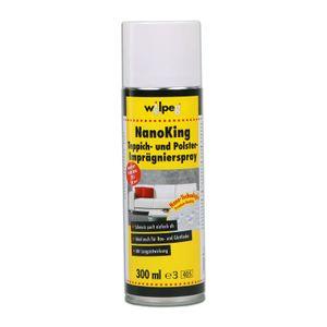 WILPEG Teppich & Polster Imprägnierspray, Imprägnierung NanoKing 300ml - Pflege und Schutz Spray