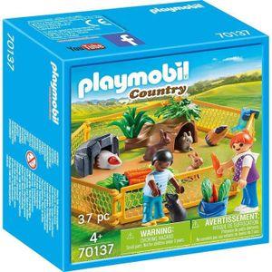PLAYMOBIL Kleintiere im Freigehege, 70137