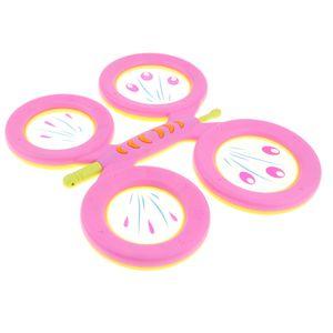 Trommel Spielzeug Kindertrommel Musikinstrumente Spielzeug mit Schmetterling Form