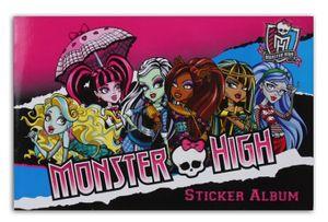 Monster High Stickeralbum beglittert, 21 x 14 cm, 16 Seiten