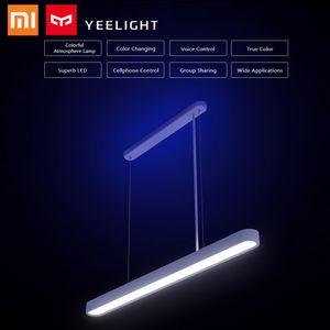 Xiaomi Deckenlampen Kronleuchter Yeelight Meteorite LED Smart Dinner Pendelleuchten Deckenlampe APP Fernbedienung