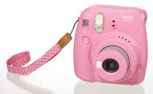 Fujifilm Instax Mini 9 Kamera Flamingo Pink