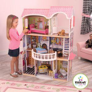 Puppenhaus Magnolia Mansion inkl. 13 Möbelstücke und mit Geräuschen; 65839