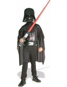 Star Wars Darth Vader Kinderkostüm-Set Lizenzware schwarz