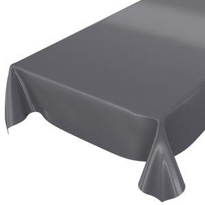 Uni Anthrazit Einfarbig 100x140cm Wachstuch Tischdecke