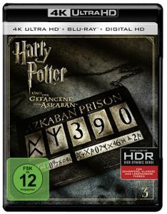 Harry Potter 3 (UHD+BR) Gefangene v.Ask. 2Disc's        4K Ultra