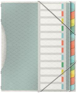 Esselte Ordnungsmappe Colour'Ice A4 PP 12 Fächer