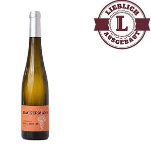 Weißwein Rheinhessen Huxelrebe Weingut Dackermann Beerenauslese 148° Süßwein  (1 x 0,5 l)
