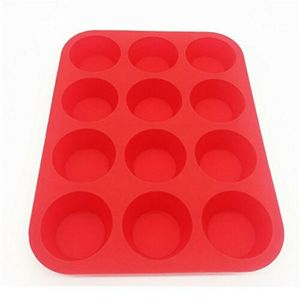 2x 12er Silikon Muffinform Backform Backhilfe Muffinförmchen Kuchenform Cupcake