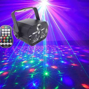 60 Muster Laserprojektor Bühnenlicht LED RGB Party KTV Club DJ Disco Lichter